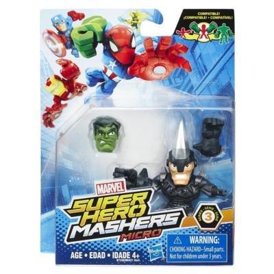 Marvel Avengers Super Hero Mashers Micro Series 3 Action Figure - Rhino