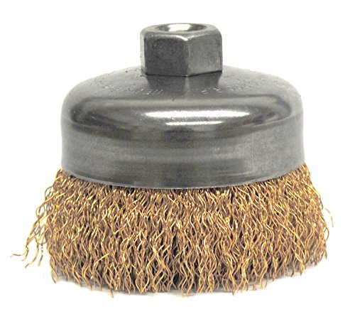 - Weiler 14616 Crimped Wire Cup Brush, 4
