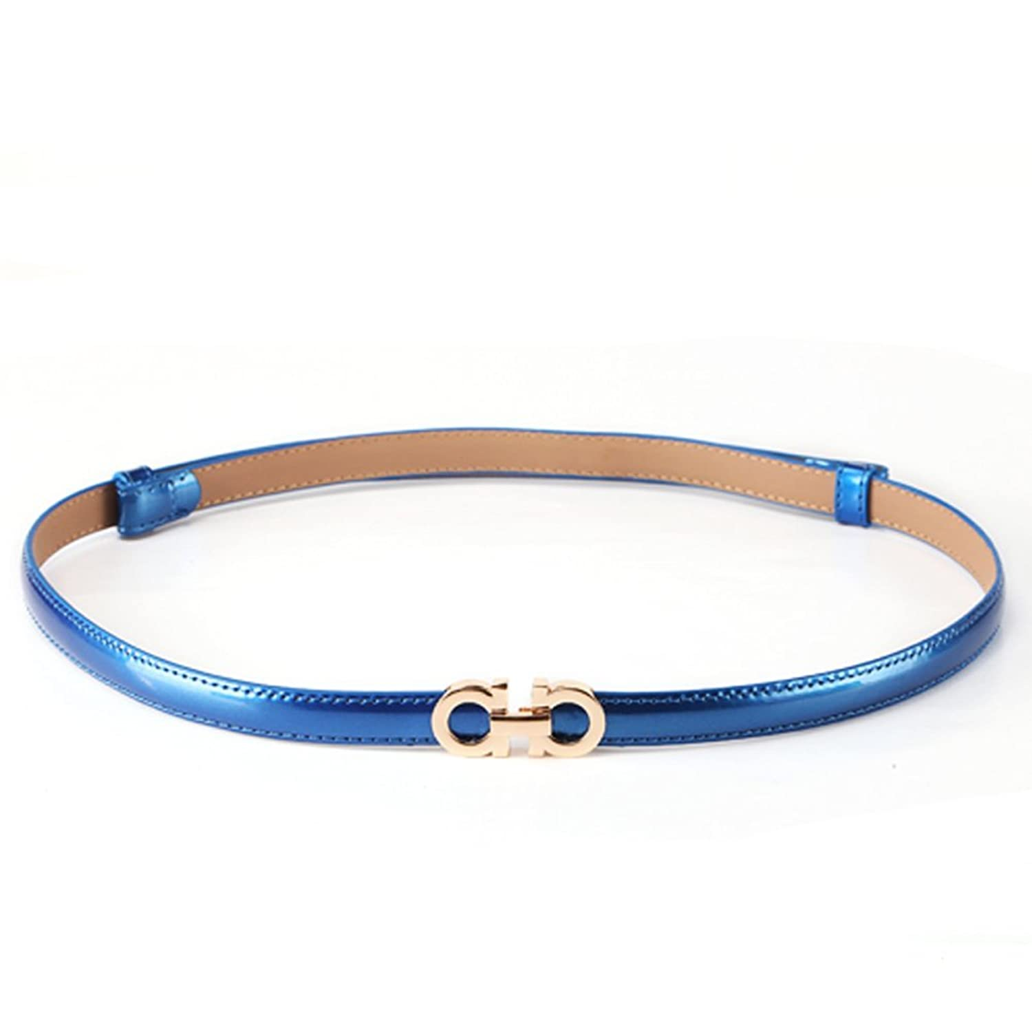 Women Faux Leather Narrow Blue Hip Waist Thin Fashion Belt Gold Metal Buckle S M. Brand New · Unbranded · Size:S · Blue. $ Buy It Now. Free Shipping. SPONSORED. New Women Belt Gold Metal Fashion Hip Waist Thin Black Green Orange Yellow S M. Brand New · Unbranded. $
