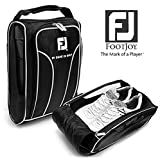 Genuine FOOTJOY Golf Shoes Bag Zipped Sports Bag Shoe Case - Black Color
