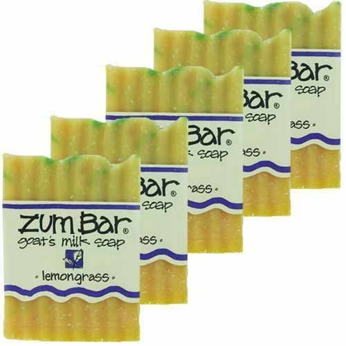 Lemongrass Moisturizing Bar Soap - Lemongrass Zum Bars Multipack (5 Count)<br>by Indigo Wild