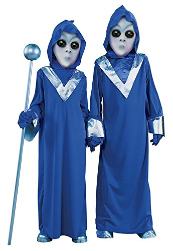 [Child Space Alien Costume X-Large] (Alien Costume Woman)