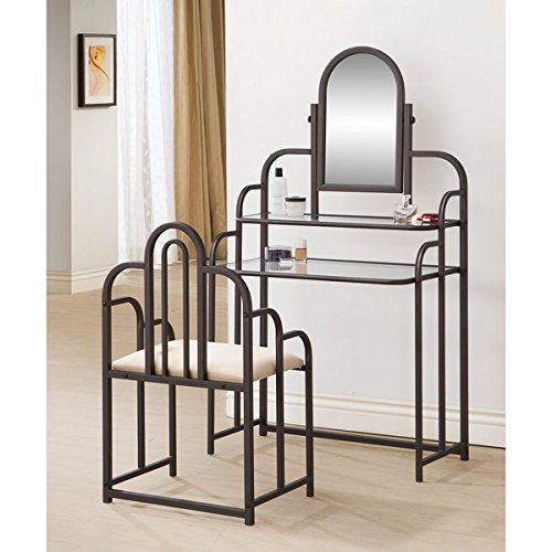Bohemian 2-piece Vanity Set with Matching Seat