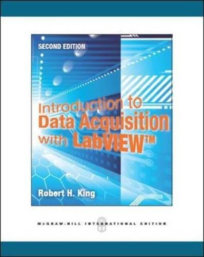Introduction to Data Acquisition with Labview ebook