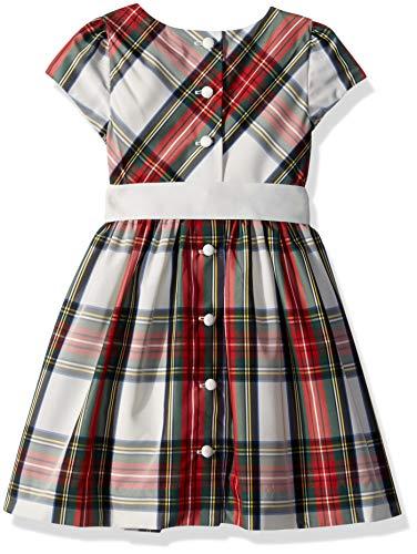 2358df45d RALPH LAUREN Baby Girls Tartan Taffeta Dress   Bloomer