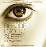 Before I Go to Sleep (Unabridged) [Audio CD]