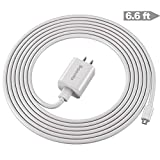 Kindle Fire Charger,10W Fast Rapid Charger Adapter with 6.6FT Charging Cable Cord Compatible