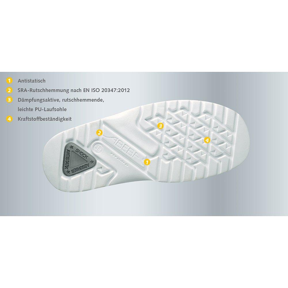 Abeba Herren, Damen Damen Damen Slipper, weiß, 35 EU - 2f98b5