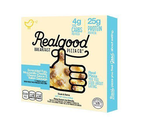 Real Good Foods, Personal 5-Inch Sausage Breakfast Pizza (Pack of 6)