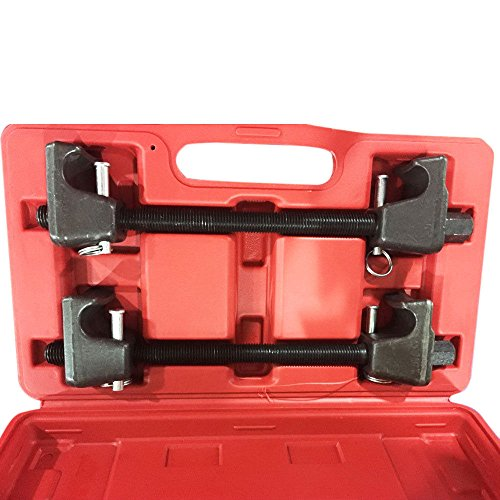 MILLION PARTS Heavy Duty Coil Spring Compressor Macpherson Strut Remover Installer Replace Repair Tool Auto Suspension Kit- Pair by MILLION PARTS (Image #1)