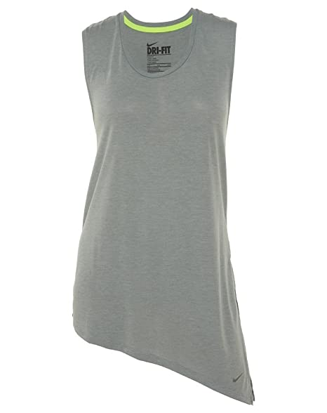 a6816ebf8 Nike Women s Dri-Fit Touch Club Side-Tie Training Top at Amazon ...