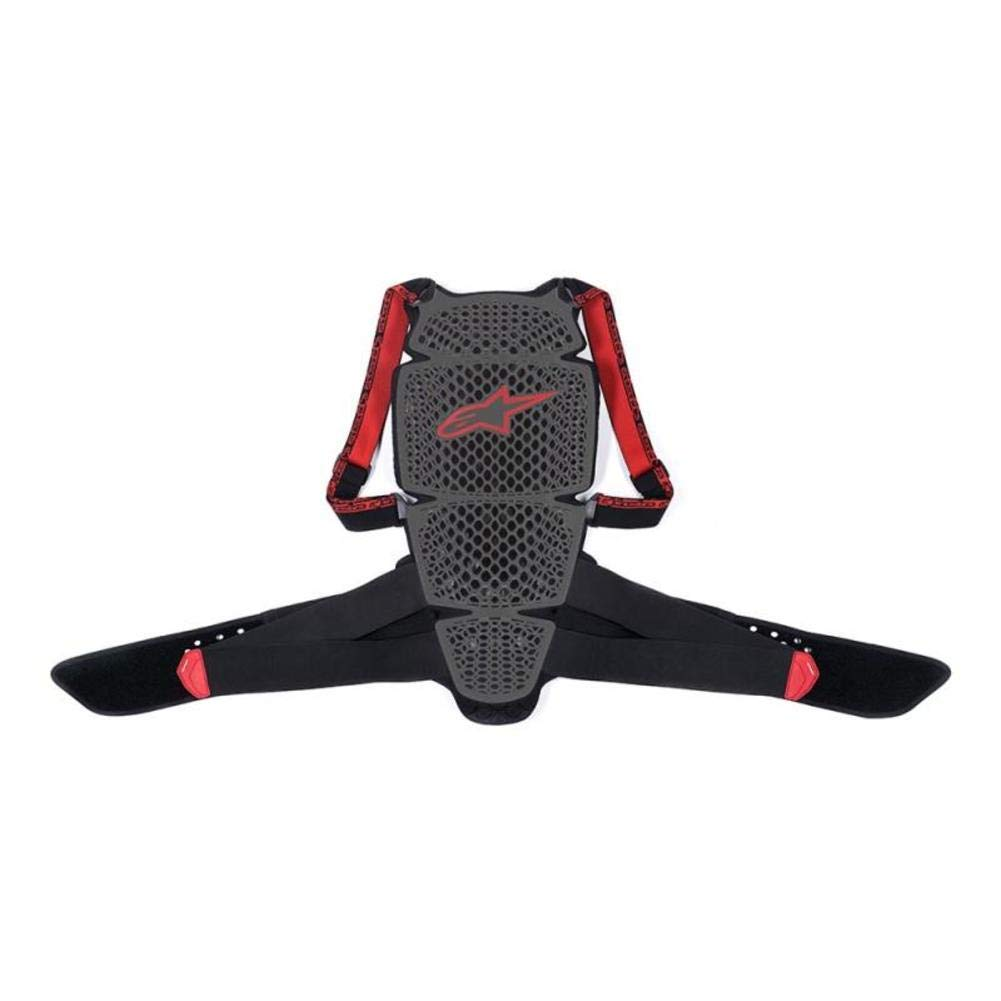 Alpinestars Nucleon KR-Cell Back Protector (X-Small) (Smoke/Black/RED) by Alpinestars