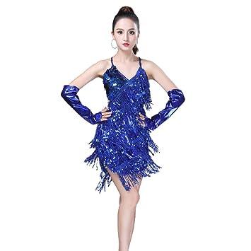 weishenghulian Vestido Baile Latino,Vestido Baile Latino NiñA ...