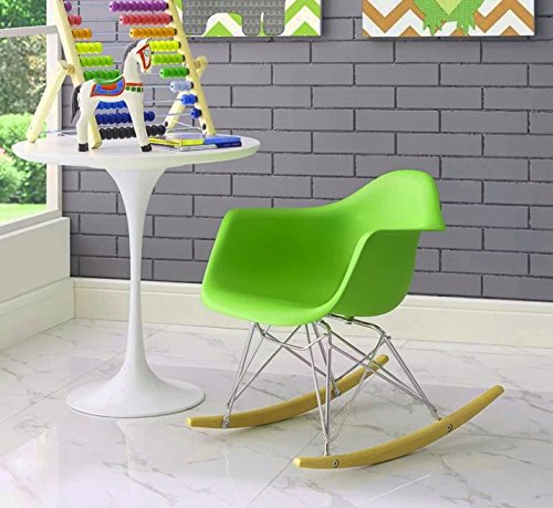 Huge Comfy Chair, Vivid Green Color,Durable And High Resistant Construction, Lightweight, An Attractive And Modern Design, Eye-Catcing, Portable, Ideal For Kids, Perfect Lounge, Easy Setup & E-Book.