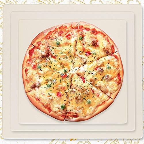 DZLXY Cordierita Pizza Piedra Placa del Grill de Piedra, Pizza ...