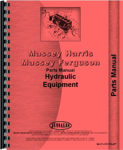 Massey Harris 44 Hydraulic Equipment Parts Manual (Equipment)