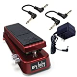 Dunlop SW95 Slash Wah with ECB004 18-volt Power Supply and 2 6-inch Patch Cables