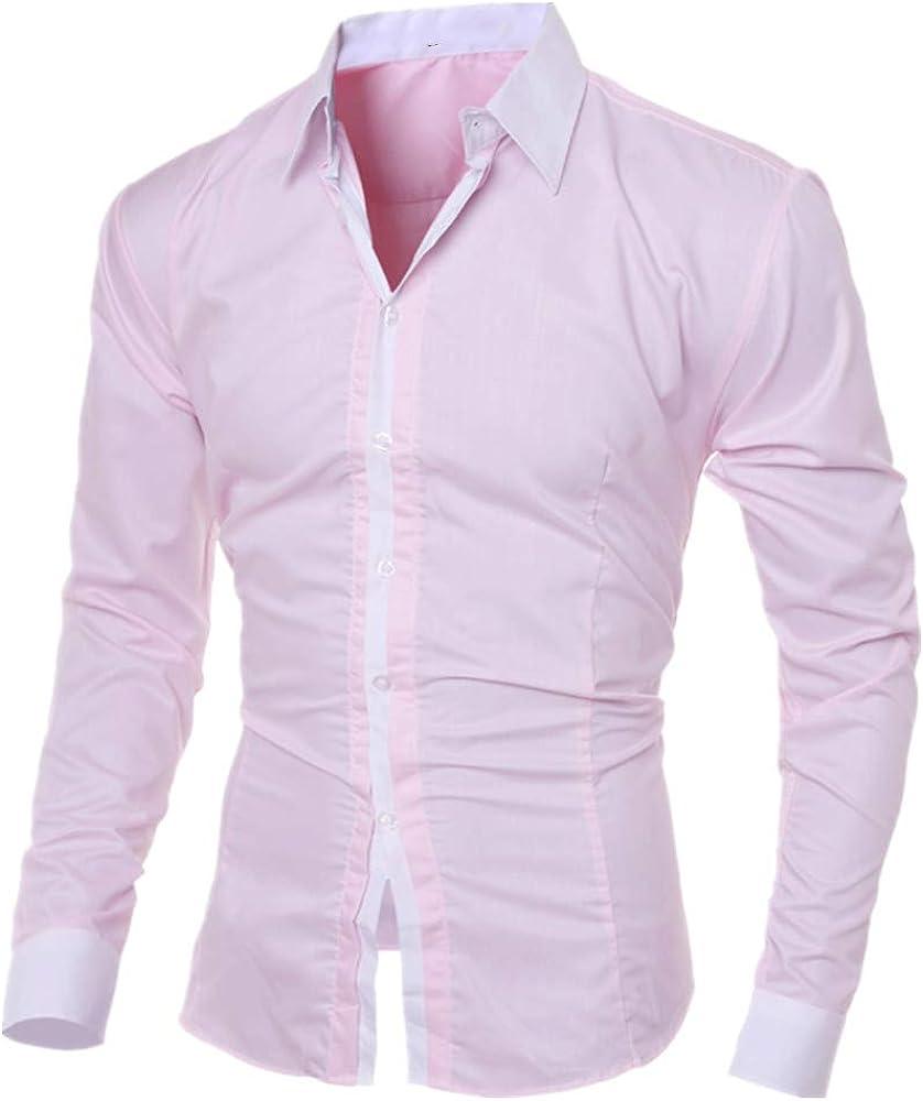 Camisa de manga larga para hombre con cuello cuadrado, estilo ...