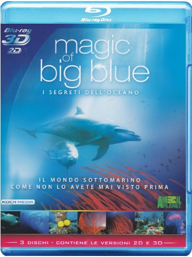magic of the big blue (blu-ray+3d) blu_ray Italian Import