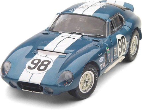 Cobra Daytona 1965 Restored and owned by Carroll Shelby, signed by Shelby Limited Ed. 1/18 Scale Die-Cast Model