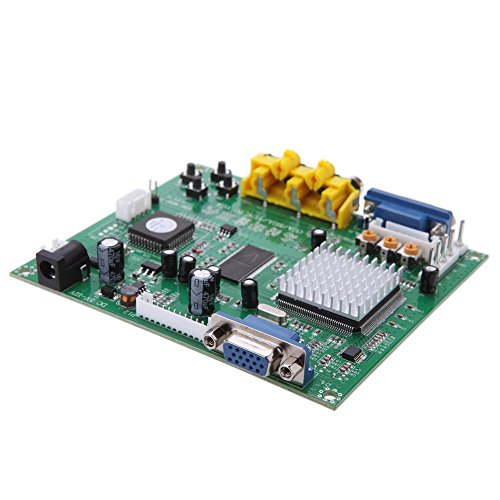 Portable Genuine GBS8200 5V Active Low 1 Channel Relay Module Board CGA/EGA / YUV/RGB to VGA Arcade Game Video Converter for CRT Monitor LCD Monitor PDP Monitor ()