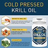 Premium Antarctic Krill Oil: 1000mg Capsules With