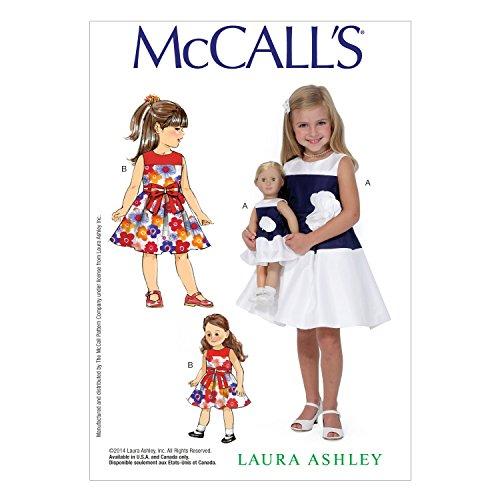 McCall Pattern Company M7074 Children's/Girls'/18