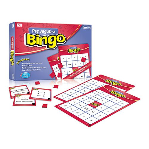 EAI Education Pre-Algebra Bingo: Grades (Fractions Decimals And Percents Chart)
