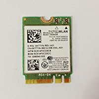 Dual Band Wireless-AC 7260 NGFF M2 Use For Intel AC 7260NGW 802.11ac 2x2 Wi-Fi + Bluetooth 4.0