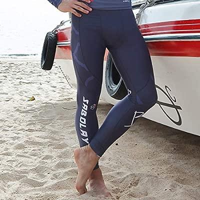 Xasclnis Traje de triatlón para Hombre: Traje de Neopreno de Cuerpo Completo diseñado para Nadar en Aguas Abiertas (Color : Pants, Size : XL)