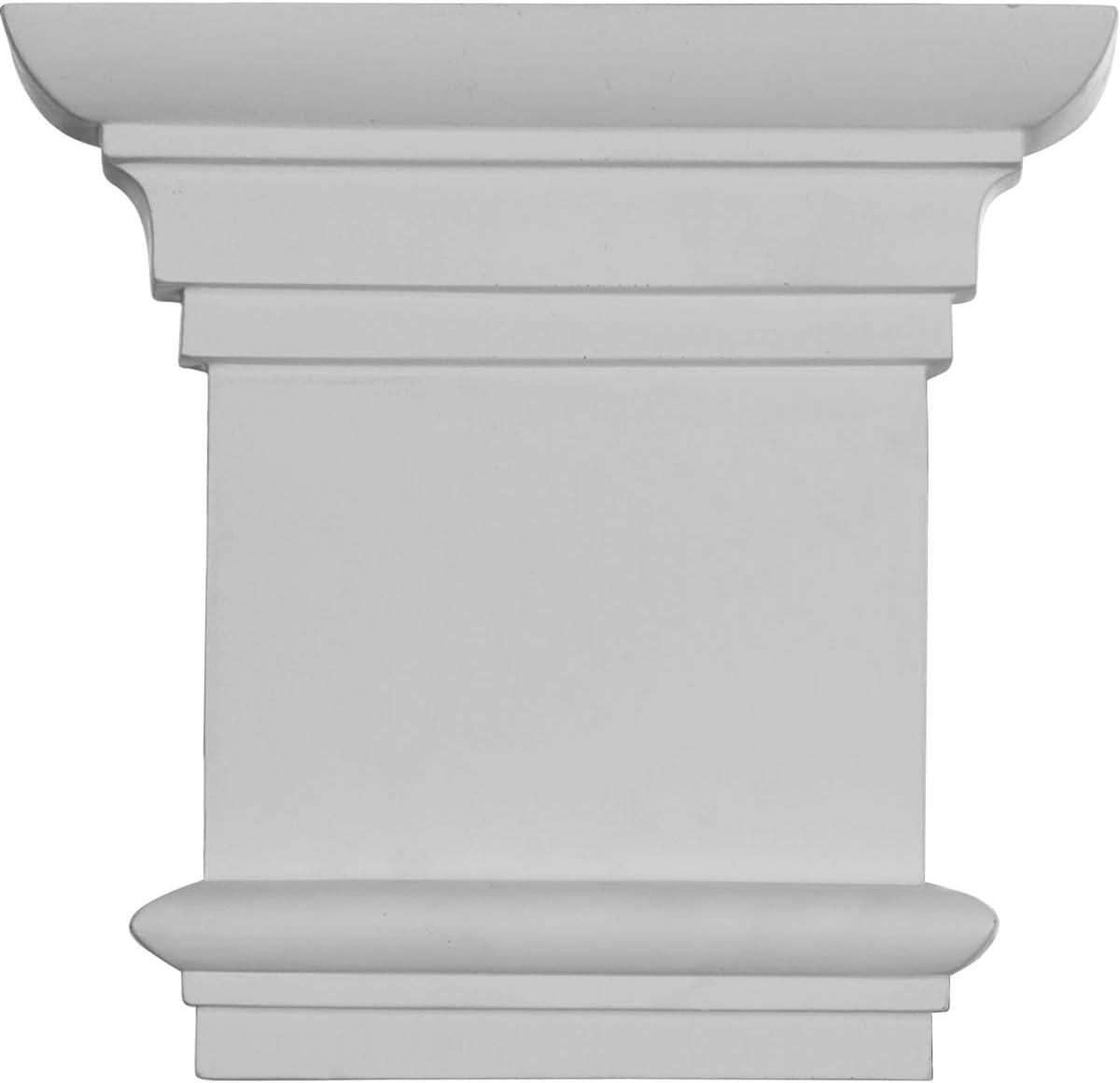 Ekena Millwork CAP08X07X02TR 8 1//4-Inch W x 7 7//8-Inch H Traditional Capital