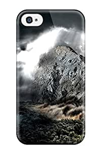 Ideal ZippyDoritEduard Samsung Galxy S4 I9500/I9502 (dark Rock Water Clouds Light Spot Digital), Protective Stylish Case