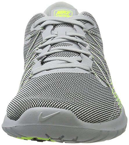 Nike Herren 819134 Sneakers Mehrfarbig (Gris / Verde)