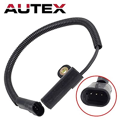 AUTEX Crank Crankshaft Position Sensor 56027280 56026884 5S1805 Compatible with Jeep Grand Cherokee 1993 1994 1995 1996/Jeep Wrangler 1993 1994 1995: Automotive
