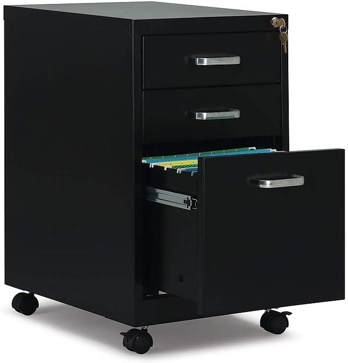 Staples 2806766 3 Drawer Vertical File Cabinet Locking ...