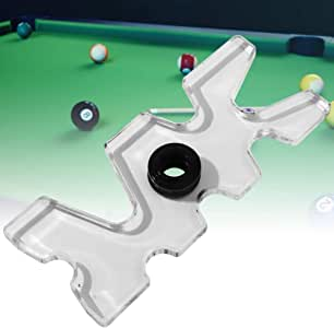 Alomejor Billar Cue Rack Acrílico Snooker Pool Cue Rack Bridge Head Billar Varilla Bastón Bastón Bastón Poste: Amazon.es: Deportes y aire libre