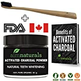 Best Natural Teeth Whitening Activated Charcoal Powder In Bulk + FREE Bamboo Toothbrush + Benefits of Activated Charcoal eBook Value Pack | Premium Raw 100% Pure Natural Organic Coconut Charcoal Powder (50g) LARGE| 100% Pure Food Grade, No Artificial Flavors or Hardwood Used - Better Alternative Than Bleach Brighten, Teeth Whitening Strips, Kits and Toothpaste