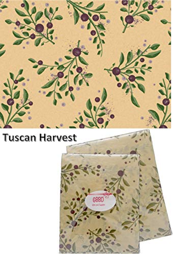 Floral Olive Branch Tissue Paper for Gift Bags 24 Decorative Sheets 20