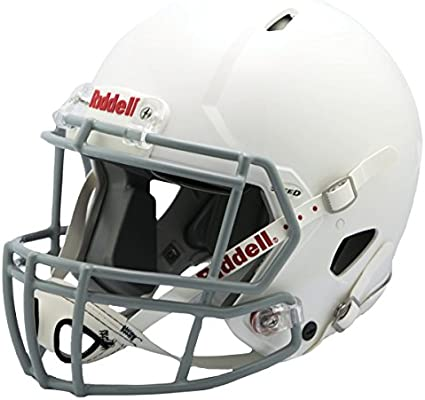Riddell Victor Youth Helmet White Gray Small Amazon Sg Sports Fitness Outdoors
