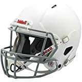 Riddell Victor Youth Helmet, White/Gray