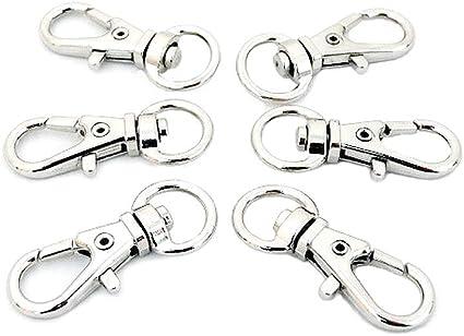 8mm dilver Swivel Clasps claw,dog collar marking,Lobster Clasp Purse hardware bag Handbag lanyard Clasp,strap webbing clip pet leash diy