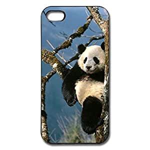 AOPO Phone Cover Case For IPhone 5s/5,Panda Climbing Tree Make Custom IPhone 5s/5 Cover Case