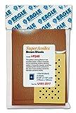 Eagle U191-2517 - Super Assilex Brown Sheets - 4 shts & 1 Hard Pad M/Pack - 1 Pack