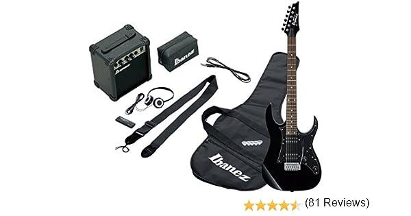 Ibanez IJRG200-BK - Guitarra eléctrica, color negro: Amazon.es ...