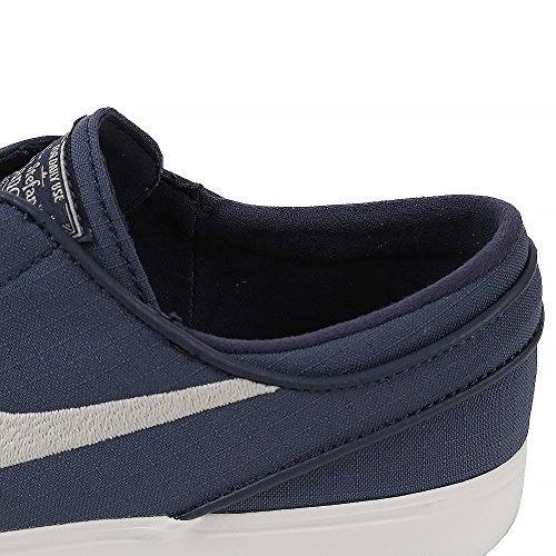 Zoom De Nike Stefan Janoski Baskets En Toile Bleu Fonc