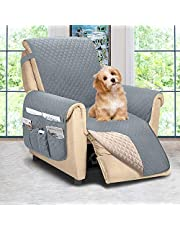 Reversible Recliner Chair Cover, Recliner Covers for Dogs,Recliner Slipcover,Recliner Protector