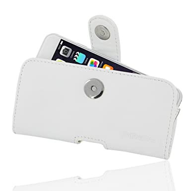 1cc2d5108e2d2 PDAir iPhone 6 Genuine Leather Case (White)