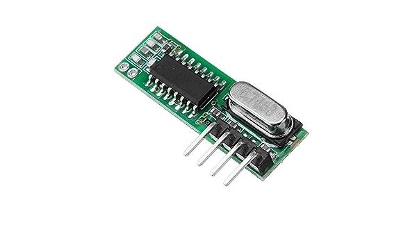 DANJIA WL102 433 MHz módulo transmisor de control remoto ...