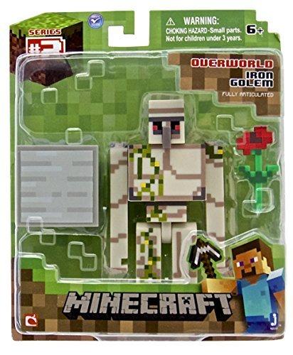 Figura Minecraft golem de hierro Acción