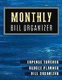 Monthly Bill Organizer: Bill planner Worksheet